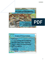 Introduction to Civil Planning