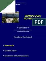 Semiologia Nutricional Dr.lahsen