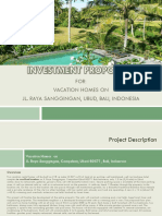 Investment Proposal, Ubud, Bali, Indonesia