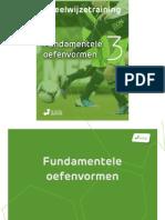 Voetbalmethode eBook Deel 3 Fundamentele Oefenvormen