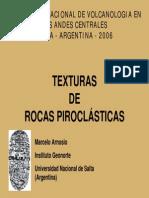 Texturas de Rocas Piroclásticas