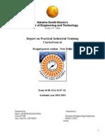 Roll No. 3 Training Report