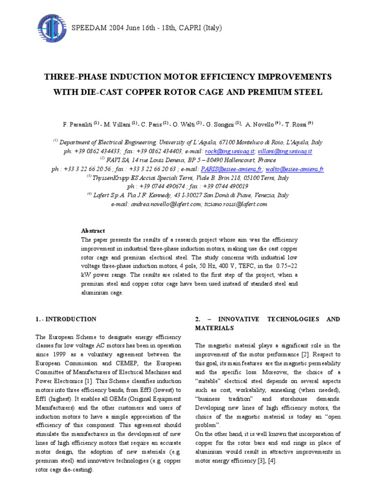 research paper on electromagnetism