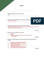 PP KUIZ 1 skema jawapan en 201