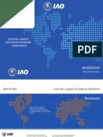 International Accreditation Organization's Membership Brochure