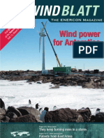 WINDBLATT -Wind Power for Antarctic