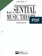 Essential Music Theory Grade I - Gordon Spearritt