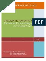 Documento Apoyo Trastornos de La Voz 2012