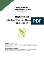 HS Student Handbook 2014_2015