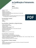 Conteúdo Programático - After Effects CS6 - Módulo I