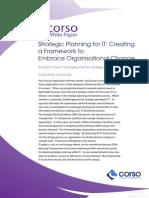 corso - strategic planning for it white paper