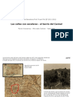 Calles Con Escaleras-el Carmel