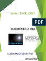 Evolución - Tema 1 Tsb