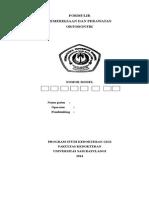 Formulir Pemeriksaan & Perawatan Ortodontik