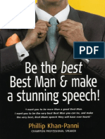 Be the Best, Best Man & Make a Stunning Speech