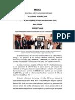 Entrega Certificados Oea Agosto 2013