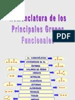 Nomenclatura de Los Principales Grupos Funcionales