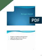 Riesgo Moral2013