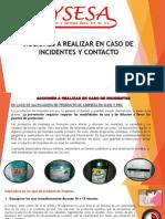 Presentacion Acciones a Tomar en Caso de Incidentes y Contacto SYSESA