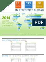 2014 World Population Data Sheet Eng