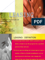 Leasing Ppt