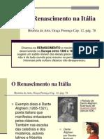 O Renascimento Italiano
