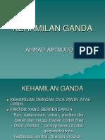 Dr.aminuddin - Kehamilan Ganda