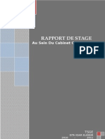 Rapport de Stage Youssef