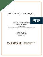 locate real estate llc - proposal 1