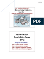 day 5 - production possibilities curve continued