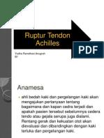 Yuda Ruptur Tendon Achilles PPT Blok 14