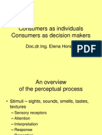MBA Consumers as Individuals and Decision Makers Text