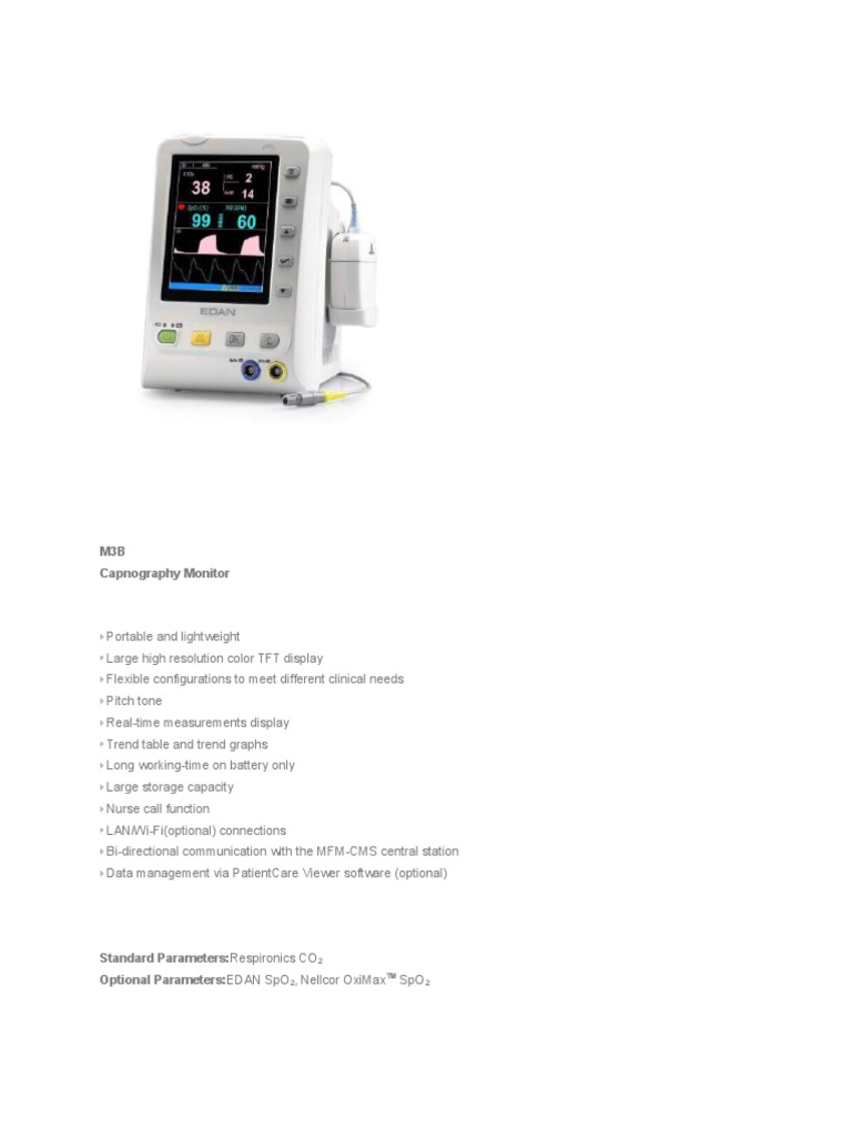 Edan Instruments | Medical Tests | Medicine