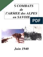 Savoie Juin 1940
