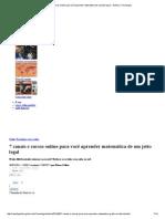 (())7 Canais e Cursos Online Para Você Aprender Matemática de Um Jeito Legal - Galileu _ Tecnologia