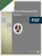 Error Instrumental