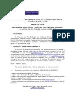 Edital 2015 Mestrado e Doutorado RI 1