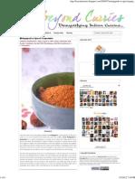 Molagapodi or Spiced Gunpowder Beyond Curries