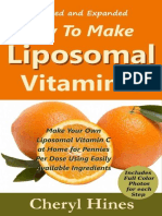 How to Make Liposomal Vitamin C - Hines, Cheryl