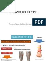 4. Garganta de Pie y Pie