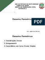 Aula 4 - Elementos Planimétricos