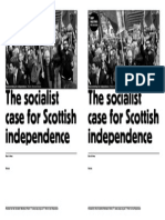 Socialist Case for Scot Independence