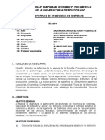 Silabo de Epistemologia de Las Ccnn y Ti 2014
