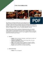 PLATOS TÍPICOS COLOMBIANOS + marco teorico