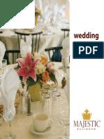 Wedding Banquet Brochure