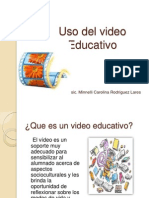 Uso Del Video Educativo