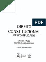 Direito Constitucional_Vicente Paulo