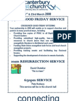Newsletter 23rd Mar 2008