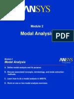 ANSYS Modal Analysis