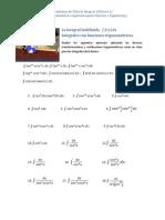 Calculo Integral Ejercicios 4 Funciones Trigonometricas